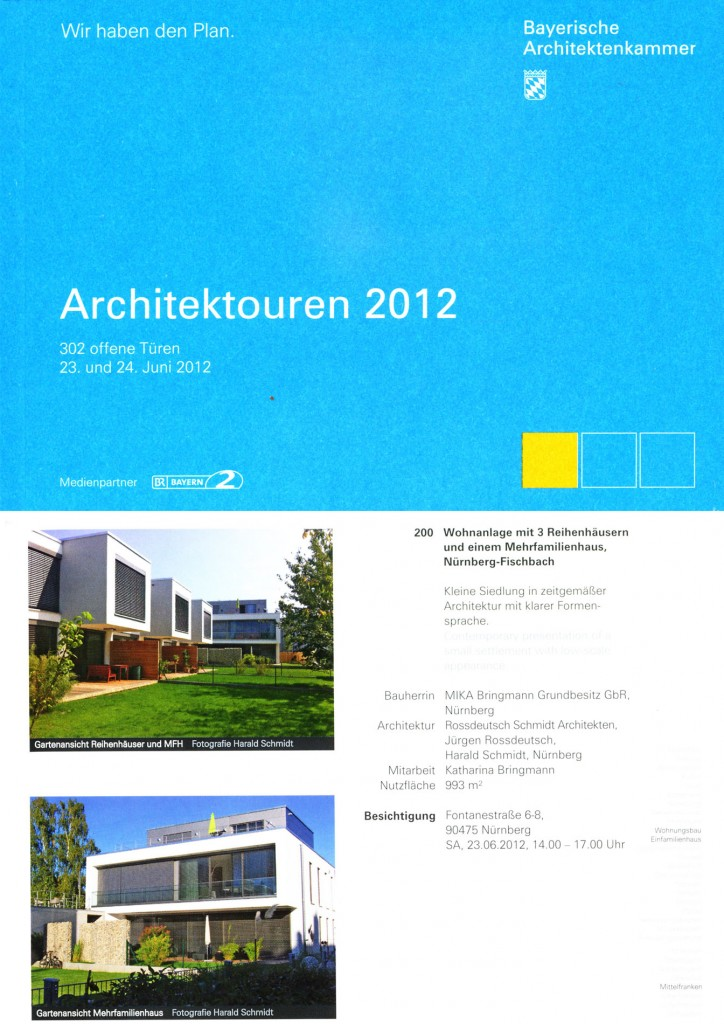 2012 Architektouren