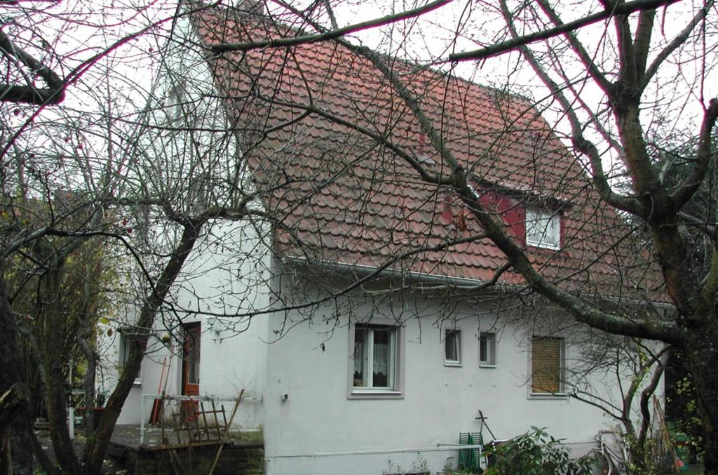Haus HW 01 Bestand